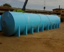Накопительная емкость для воды 50 м3 (50 кубов)